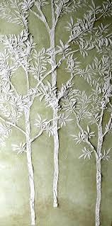 tree stencil for wall stencil wall stencil tree stencil plaster stencil life sized sapling tree stencil