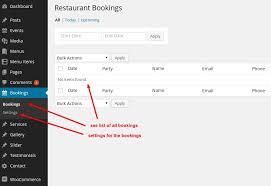 Dining Restaurant WP Theme docs