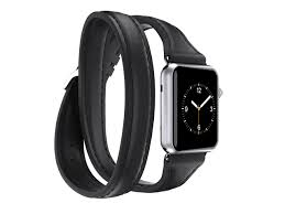 griffin technology griffin griffin apple watch 38mm leather band uptown double wrap band double wrap style for your apple watch com