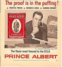 Prince Albert Tobacco Ad 1972