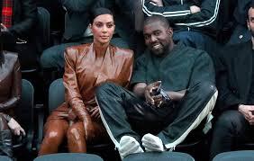 Kanye West and Kim Kardashian ...