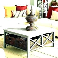 baskets for under coffee table inspirational coffee table with storage baskets for changing table storage baskets