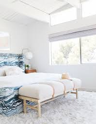 Master Bedroom Reveal Emily Henderson Design White Pink Blue and Gold-140  ...
