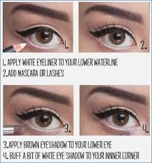 129 best make up images on makeup tips for making eyes look bigger