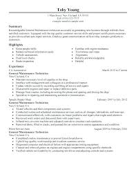 Industrial Maintenance Mechanic Sample Resume Industrial Maintenance Resume Maintenance Tech Resume Sample Resume 11