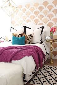 eclectic bedroom furniture. pops of your favorite colors and patterns can create happy place this bedroom boasts eclectic furniture c