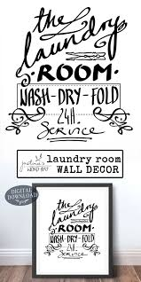 laundry room decor printable art