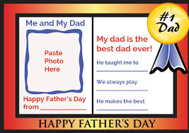Fathers Day Card Families Magazine