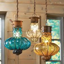 Flower Glass Pendant Lights