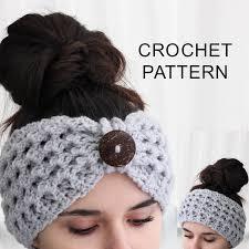Easy Crochet Headband Pattern Cool Decorating Ideas