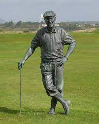 golf statues for outdoor decor
