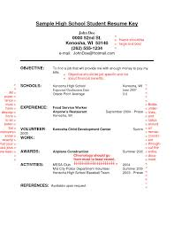 How To Write A Resume High School Student Writing A Resume for Highschool Students Resume Template 15