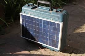 picture of how to make a portable solar generator