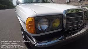 1982 Mercedes Benz 300D Turbodiesel - YouTube
