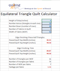 Equilateral Triangle Quilt Calculator – Quilting Jetgirl & Equilateral Triangle Quilt Calculator Adamdwight.com