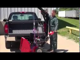 Vestil Pickup Truck Hitch Crane - YouTube