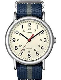 Timex Herren Armbanduhr Special Weekender Slip Through Analog Quarz T2N654PF