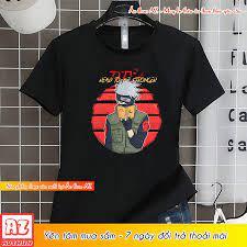 Áo thun Naruto Hatake Kakashi màu đen đẹp - Có size trẻ em M2777 tại Cần Thơ