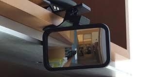 desk rear view mirror. Modren Mirror Amazoncom ClipOn Rear View Mirror For PC Monitors Or Anywhere By Modtek  Computers U0026 Accessories In Desk V