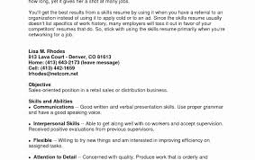 Skills List For Resume Examples Of Skills To Put On A Resume Awesome Good Personal Skills 17