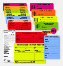 Rpi Roll Products Color Code Labels