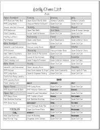 House Chores List Barca Fontanacountryinn Com