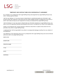 10+ Employee Confidentiality Agreement Examples - Pdf, Word