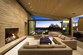 image of modern living room with fireplace ideas