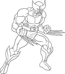 Small Picture Wolverine coloring pages printable ColoringStar