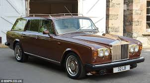 John Entwistles Rolls Royce Customised To Carry Irish Wolfhounds