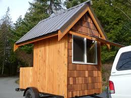 Relaxshacks com  Eli Curtis     Tiny Cabin On Wheels  A micro getaway    Eli Curtis     Tiny Cabin On Wheels  A micro getaway shack and workshop