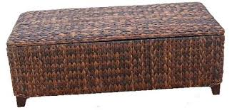 Seagrass BENCH for an entry or the foot of a bed