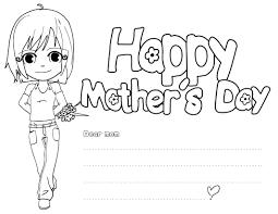 Happy Mothers Day Nana Printable Coloring Pages L L L L L L
