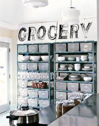 Brilliant Metal Kitchen Storage Industrial Shelving Construct A Pantry From  A Pair Of Metal