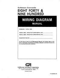 aero commander 690c 840 690d 900 wiring diagram