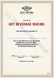 Making A Certificate Diploma In Hot Beverage Making