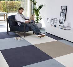 image of interlocking carpet tiles
