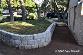 near retaining wall tree ri retaining