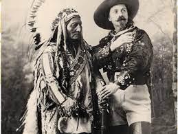 Neue Übersetzung Blechschild Nostalgieschild Buffalo Bill Zirkus Cowboy  USA:Komm online -cooleymonato.com
