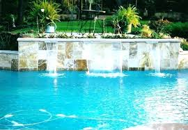 in ground pools with waterfalls. Inground Pool Waterfalls Waterfall For Pools Rock Swimming In Ground With