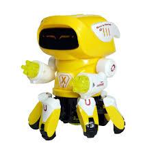 GIÁ SẬP SÀN) Bộ đồ chơi con người máy biết nhảy múa cực chất thích hợp cho  cả bé trai và gái trên 1 tuổi, dùng pin tại Hà Nội