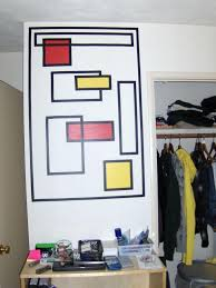 How To Create Wall Art With Electrical Tape: 6 Steps (With Pictures) With