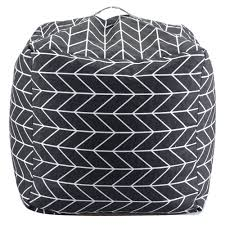 gray bean bag chair karat home inc geometric bean bag chair grey fluffy bean bag chair