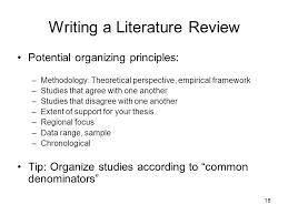 Literature review paper example   Academic Writing Services From     SlidePlayer