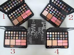 17f4 mac eyeshadow make up kit 24 color uk 792629