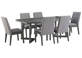 Spiller Furniture Mattress Besteneer Dark Gray Rectangular Dining