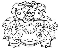 Coloring Pages Pokemon Venusaur Drawings Pokemon