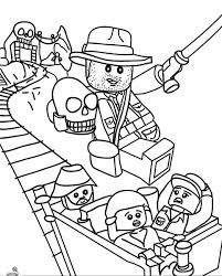 Lego Indiana Jones Coloring Pages Printable Movie In 2019 Lego
