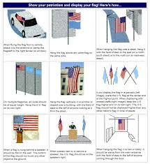 gallery of 3 ways to hang the american flag on a wall wikihow good proper display of nice 4