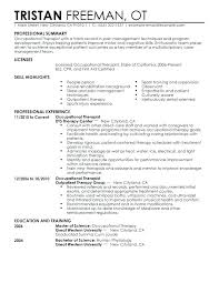 Physical Therapy Resume Examples Physical Therapy Resume Format ...